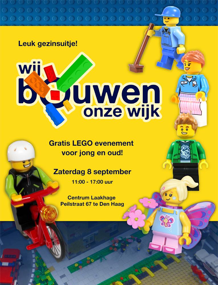 Wij bouwen onze wijk in LEGO