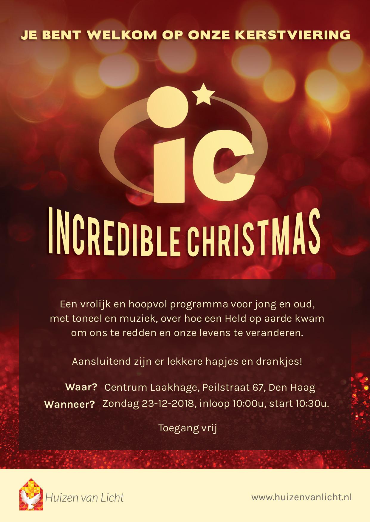 Kom jij ook naar onze kerstviering?