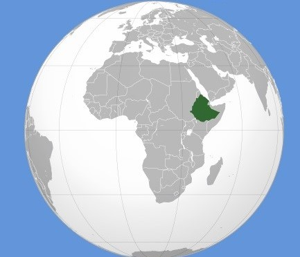 Ethiopië waar ligt dat